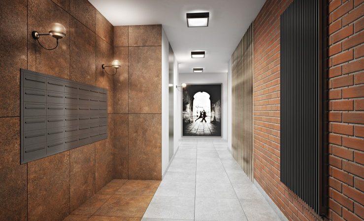 klatka schodowa - droga do nowego mieszkania